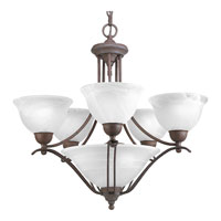 Progress Lighting Avalon 5 Light Chandelier in Cobblestone P4069-33
