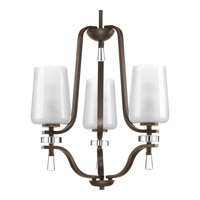 Progress Indulge 3 Light Chandelier in Antique Bronze P4088-20