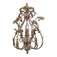 Progress Lighting Thomasville Elysian 4 Light Chandelier in Golden Brandy P4106-02