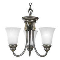 Progress Lighting Huntington 3 Light Chandelier in Forged Bronze P4108-77