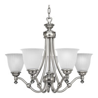 Progress Lighting Renovations 5 Light Chandelier in Antique Nickel P4115-81