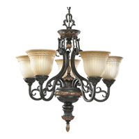 Progress Lighting Thomasville Provence 5 Light Chandelier in Old Iron Crackle P4126-92C photo thumbnail