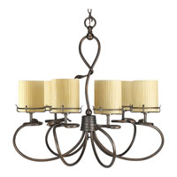 Progress Lighting Thomasville Willow Creek 6 Light Chandelier in Weathered Auburn P4132-114 photo thumbnail