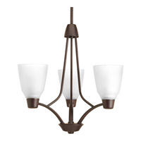 Progress P4171-20 Asset 3 Light 20 inch Antique Bronze Chandelier Ceiling Light in Bulbs Not Included photo thumbnail