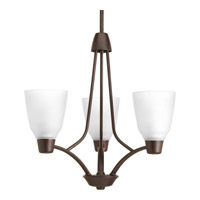 Progress Asset 3 Light Chandelier in Antique Bronze P4171-20WB