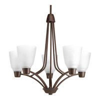 Progress Asset 5 Light Chandelier in Antique Bronze P4172-20