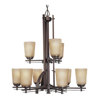Riverside 9 Light 28 inch Heirloom Chandelier Ceiling Light