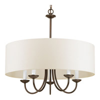 Progress Lighting Signature 5 Light Chandelier in Antique Bronze P4217-20