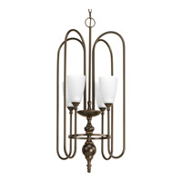Progress Revive 4 Light Foyer Pendant in Antique Bronze P4227-20