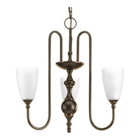 Revive 3 Light 22 inch Antique Bronze Chandelier Ceiling Light