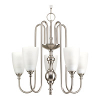 Progress Revive 5 Light Chandelier in Brushed Nickel P4235-09