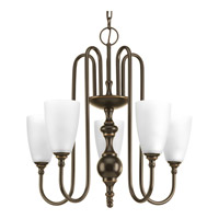 Revive 5 Light 22 inch Antique Bronze Chandelier Ceiling Light