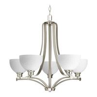Progress Legend 5 Light Chandelier in Brushed Nickel P4271-09