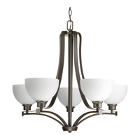 Progress Legend 5 Light Chandelier in Antique Bronze P4271-20
