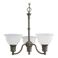 Progress P4280-20 Madison 3 Light 22 inch Antique Bronze Chandelier Ceiling Light