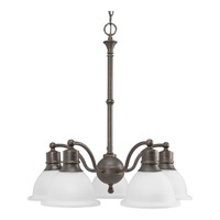 Madison 5 Light 25 inch Antique Bronze Chandelier Ceiling Light