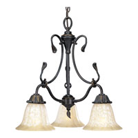 Progress Lighting Timberbrook 3 Light Chandelier in Espresso P4285-84