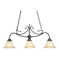 Progress Lighting Timberbrook 3 Light Chandelier in Espresso P4286-84