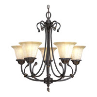 Progress Lighting Timberbrook 5 Light Chandelier in Espresso P4297-84