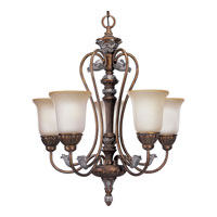 Progress Lighting Thomasville Carmel 5 Light Chandelier in Tuscany Crackle P4299-55