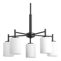 Replay 5 Light 21 inch Black Chandelier Ceiling Light