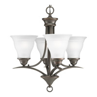 Progress Lighting Trinity 4 Light Chandelier in Antique Bronze P4326-20