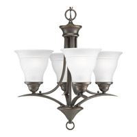 Progress Lighting Trinity 4 Light Chandelier in Antique Bronze P4326-20EBWB