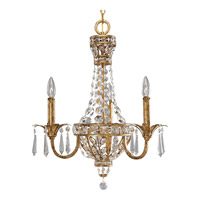 Progress Lighting Thomasville Palais 3 Light Chandelier in Imperial Gold P4337-63