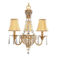 Progress Lighting Thomasville Palais 3 Light Chandelier in Imperial Gold P4337-63 alternative photo thumbnail