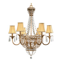 Progress P4338-63 Palais 9 Light 34 inch Imperial Gold Chandelier Ceiling Light alternative photo thumbnail