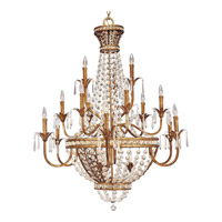 Progress Lighting Thomasville Palais 18 Light Chandelier in Imperial Gold P4340-63