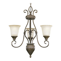 Progress Lighting Maison Orleans 3 Light Chandelier in Fieldstone P4371-87