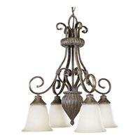 Progress Lighting Maison Orleans 4 Light Chandelier in Fieldstone P4372-87