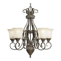 Progress Lighting Maison Orleans 6 Light Chandelier in Fieldstone P4374-87