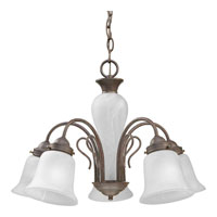 Progress Lighting Bedford 5 Light Chandelier in Cobblestone P4391-33