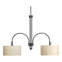 Clayton 2 Light 41 inch Espresso Chandelier Ceiling Light