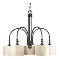 Clayton 5 Light 32 inch Espresso Chandelier Ceiling Light