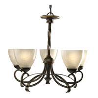 Progress Lighting Nocera 5 Light Chandelier in Oil Rubbed Bronze P4426-108