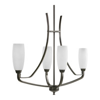 Progress Lighting Wisten 4 Light Chandelier in Antique Bronze P4435-20