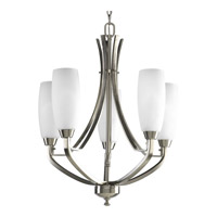 Progress Lighting Wisten 5 Light Chandelier in Brushed Nickel P4436-09