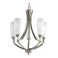 Progress Lighting Wisten 5 Light Chandelier in Brushed Nickel P4436-09EBWB photo thumbnail