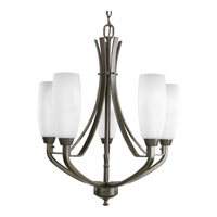 Progress Lighting Wisten 5 Light Chandelier in Antique Bronze P4436-20