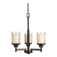 Progress Lighting Alexa 3 Light Chandelier in Antique Bronze P4458-20