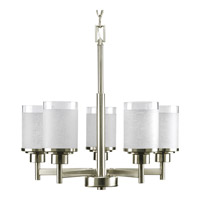 Progress Lighting Alexa 5 Light Chandelier in Brushed Nickel P4459-09