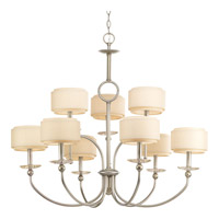 Progress P4464-134 Ashbury 9 Light 37 inch Silver Ridge Chandelier Ceiling Light