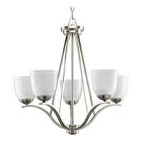 Progress Lighting Lakeshore 5 Light Chandelier in Brushed Nickel P4468-09
