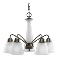 Progress Lighting New Bedford 5 Light Chandelier in Antique Bronze P4478-20