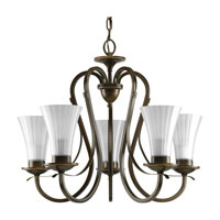 Progress Lighting Melody 5 Light Chandelier in Oil Rubbed Bronze P4494-108