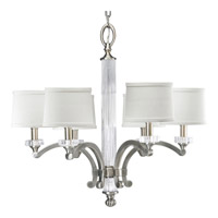 Progress Lighting Thomasville Roxbury 6 Light Chandelier in Classic Silver P4501-101