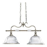 Progress Lighting Thomasville Roxbury 2 Light Chandelier in Classic Silver P4503-101